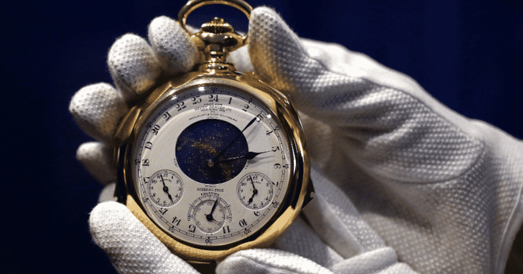 Patek Philippe Henry Graves Supercomplication watch