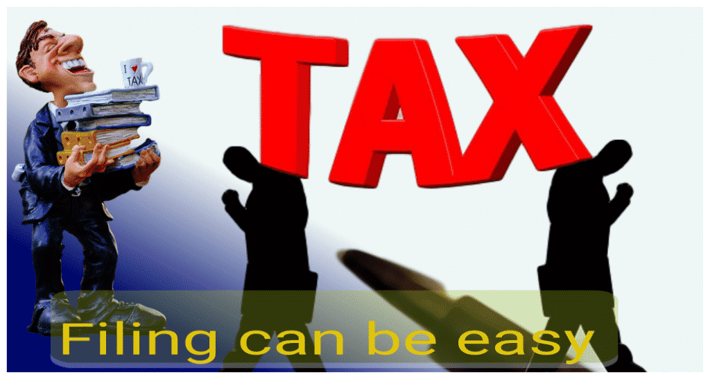 filing your 2018 income tax is easy