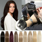 "12""-24"" 100g+ Best Glue Tape In Seamless Tape In Remy Real Human Hair Extensions"
