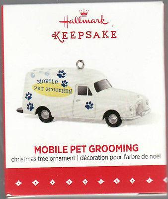 """2015 """"Mobile Pet Grooming"""" Hallmark Keepsake Ornament """"LIMITED EDITION"""""""