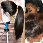 360 Lace Front Wigs Straight Real Brazilian Human Hair Full Lace Wig Baby Hair J