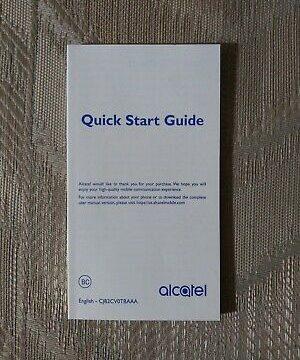 Alcatel Mobile Phone Manual 6