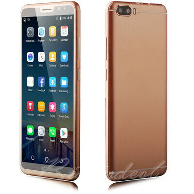 Android 7.0 Unlocked 6 Inch Mobile Smartphone Quad Core 2SIM 3G/GSM Cell Phones