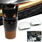 Black Cell Mobile Phone Cup Holder Mount Stand+Adjust Blind Spot Mirror TY56