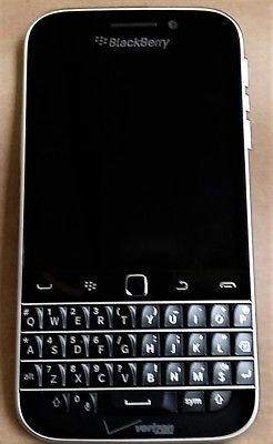BlackBerry Classic Q20 16GB Black (Verizon) Unlocked GSM Smartphone 4G LTE Touch