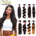 Brazilian Curly/Body Wave/Straight/Deep Human Hair Weave 1/3 bundles Ombre Hair
