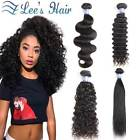 Brazilian Hair Bundles With Closure Straight 2