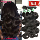 Brazilian Virgin Hair 3 Bundles Body Wave THICK 300g Remy Human Hair Weave Wefts