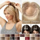 Remy Hair Topper 7