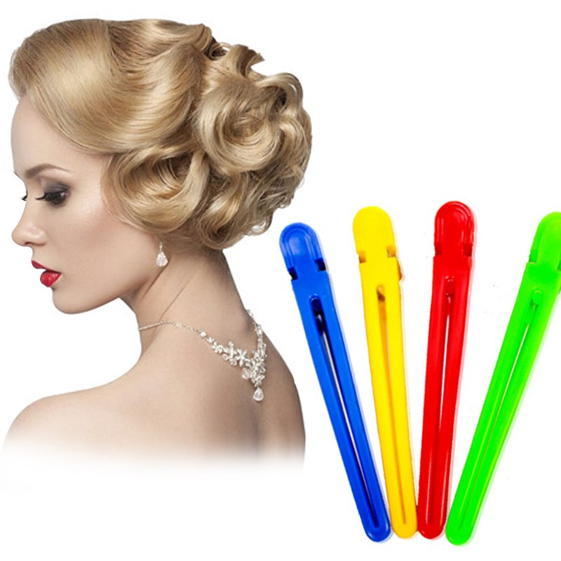 Colorful Hair Clips Professional Hairdressing Hairpins Salon Sectioning Hair Clip Styling Tools Braiding Accessory Hair Pin