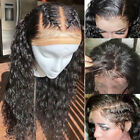 Curly Deep Wave Brazilian Remy Human Hair Wigs Silk Base 360 Full Front Lace Wig