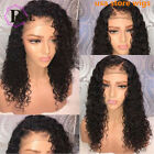 Curly Wig Brazilian Lace Front Human Hair Wigs With Baby Hair Lace Frontal Wig