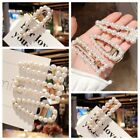Fashion Pearl Hair Clip Hairband Bobby Pin Barrette Hairpin Headdress Jewelry