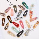 Fashion Women's Hair Slide Clips Snap Barrette Hairpin Pins Hair Accessories