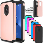 For Alcatel TCL LX/Ideal XTRA/1XEvolve Phone Case Hybrid Rubber Hard Armor Cover