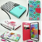 For Samsung GALAXY S6 Phone Pu Leather Flip Wallet Case Cover Pouch Stand Fold