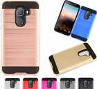 For T-Mobile REVVL / ALCATEL A30 FIERCE 2017 Brushed Phone Case Cover MetaGuard