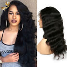 Full Lace wig Brazilian Virgin Hair Lace Front wigs 8A Body Wave with Baby Hair
