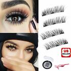 Long Mink Lash Magnetic 3D Natural Fake Reusable Eyelashes Extension Handmade US