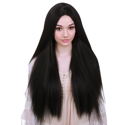 Long Straight Cosplay Fashion Wig Heat Resistant Straight Hair Women's Wigs