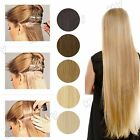 Long Straight Tape In 100% Real Remy Virgin Human Hair Extensions Blonde USBS033