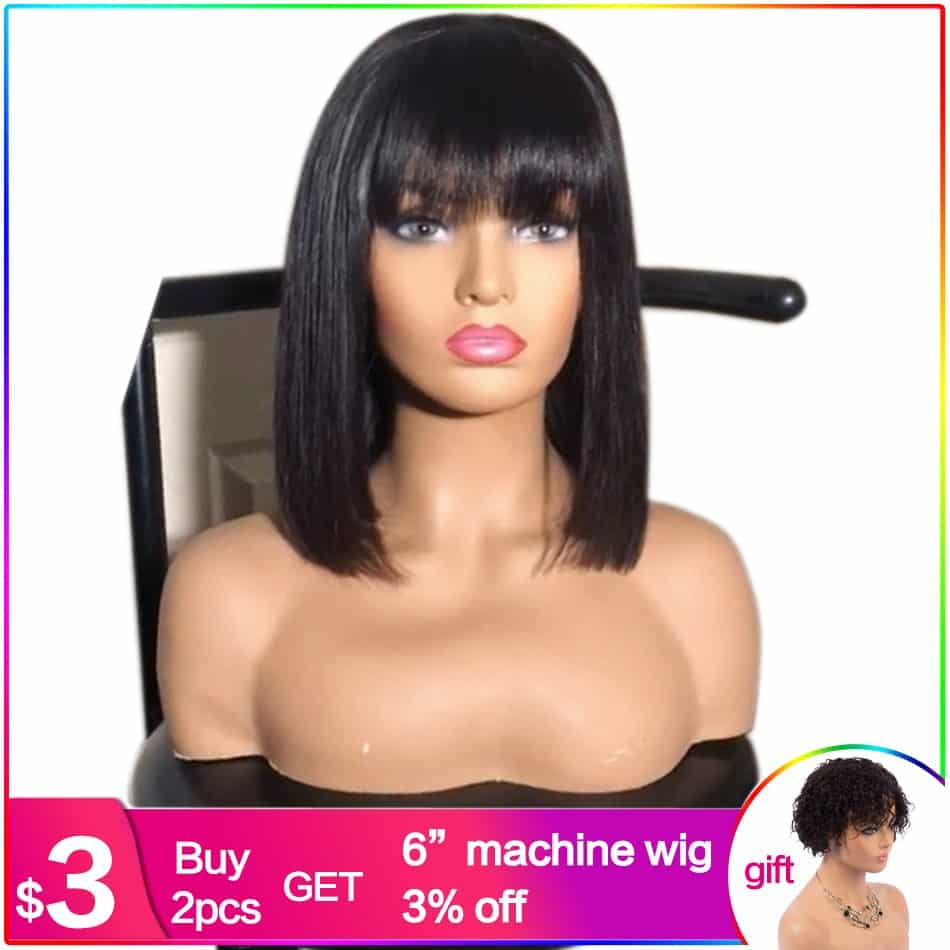 Wigs With Bangs 3