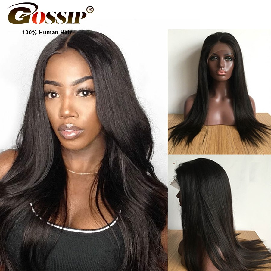 Malaysian Straight Lace Front Wig Lace Front Human Hair Wigs For Black Women Remy Lace Frontal Wig 12x3 Lace Closure Wig