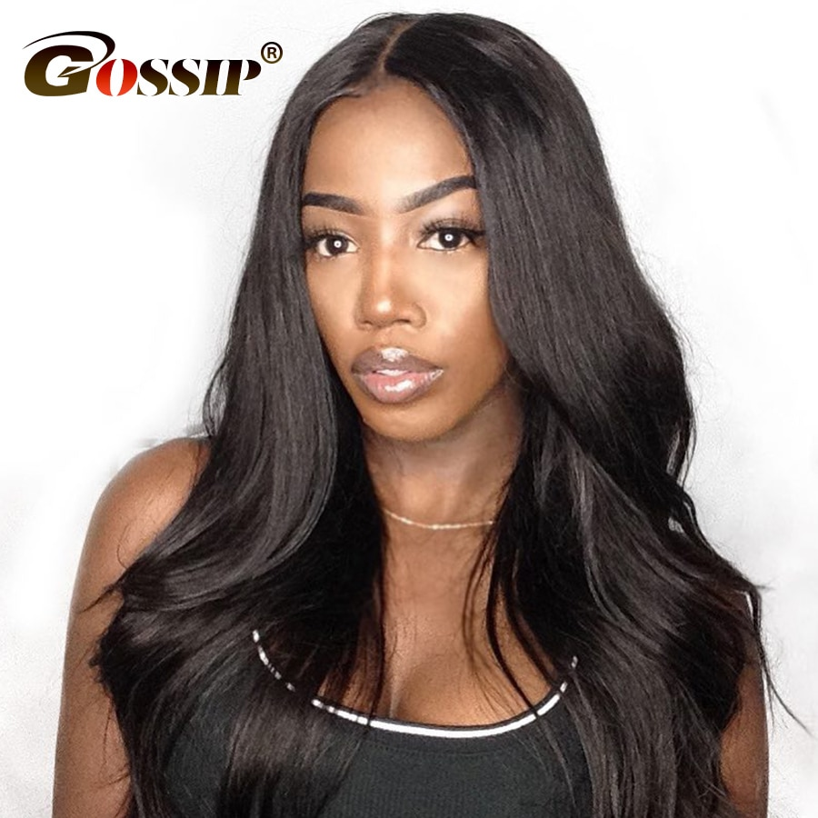 Malaysian Straight Lace Wig Human Hair Glueless Lace Front Human Hair Wigs Pre Plucked Lace Front Wig Remy Wigs For Black Women