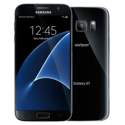 New Overstock Samsung Galaxy S7 SM-G930V 32GB - Black (Verizon) Smartphone