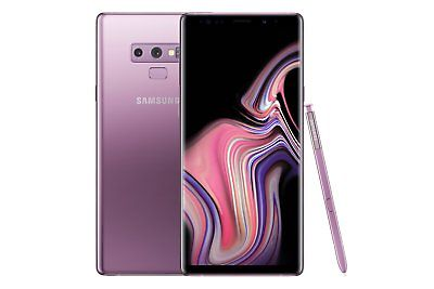 Samsung Galaxy Note9 SM-N960U1 - 128GB - Purple (Factory Unlocked) 9/10