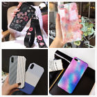 Slim Fit Cute Bling Retro Strap Case Protective Phone Covers For iPhone