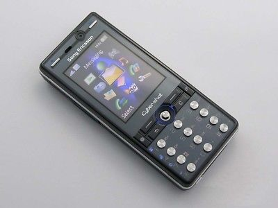 Sony Ericsson K810i K810- Black (Unlocked) Cellular Phone Free Shipping 2018