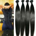 Straight 7A Virgin Human Hair Extensions Brazilian Hair Bundles 400G 4 Bundles
