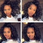 USA Loose Wave Brazilian Human Hair Lace Front Wig Full Wigs With Baby Hair