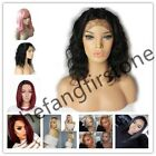 Wig with Baby Hair Human Hair Full End Short Bob Wigs For Black Women