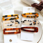 Women 6 Color Vintage Leopard Hair Clip Hairband Comb Bobby Pin Barrette Hairpin