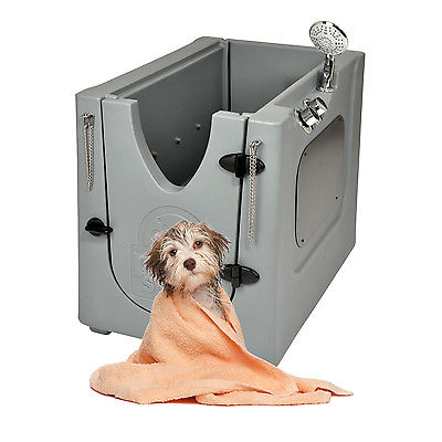 Home Pet Spa Mobile Pet Dog Washing and Grooming Bath Wash Tub indoor/outdoor
