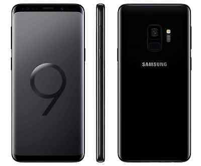 Samsung Galaxy S9 SM-G960U1 - 64GB - Midnight Black (Factory Unlocked) 9/10