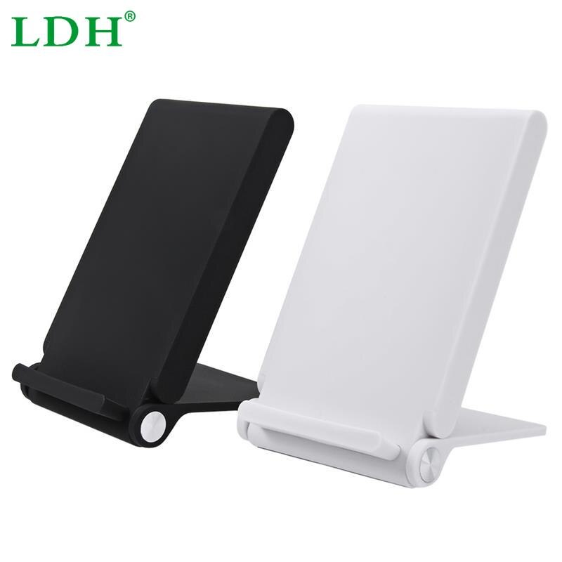 3 Coils Wireless Charger Folding Charging Holder For Samsung Galaxy S6 Edge Note 5 For iPhone 6s Plus Android Smart Phone
