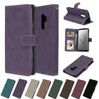 For Samsung Phone/S9/S8/S7/Note8 Leather Flip Wallet Case Cover Pouch Stand Fold