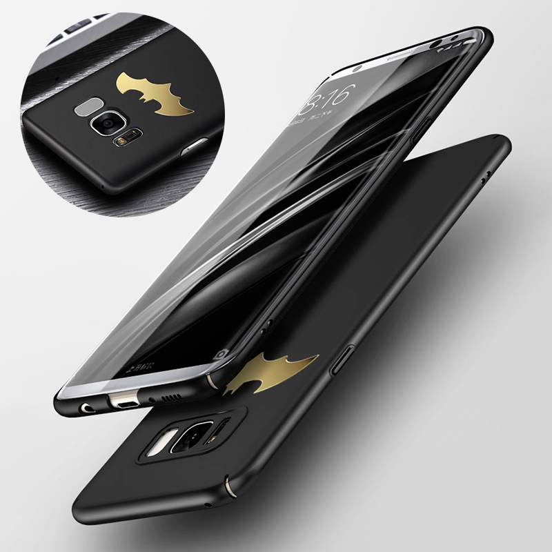 Luxury Phone Case For Samsung Galaxy S8 S9 Plus S7 Edge Note 8 9 Coque Protective PC Back Cover Case For Samsung A8 A7 2018 A750