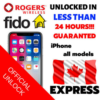Rogers Fido Canada Samsung Unlock Code Galaxy S8 S8 S7 Edge A5 J3 J5 J7 S6 S5