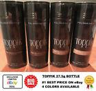 Toppik Hair Building Fibers 27.5g Black Light Medium Dark Brown FAST FREE SHIP !