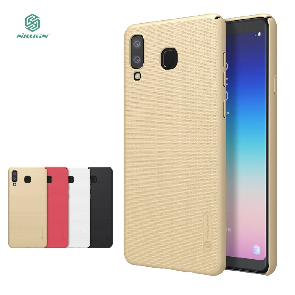 For Samsung Galaxy A8 Star case for Samsung A9 Star Nillkin hard back protect phone cases cover +