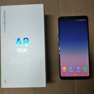"MINT Samsung Galaxy A8 Star SM-G885F 6.3"" 64GB Dual SIM UNLOCKED - USA SHIP"