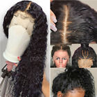 100% Real Brazilian Virgin Human Hair Silk Top Full Lace Wig 360 Lace Front Wigs