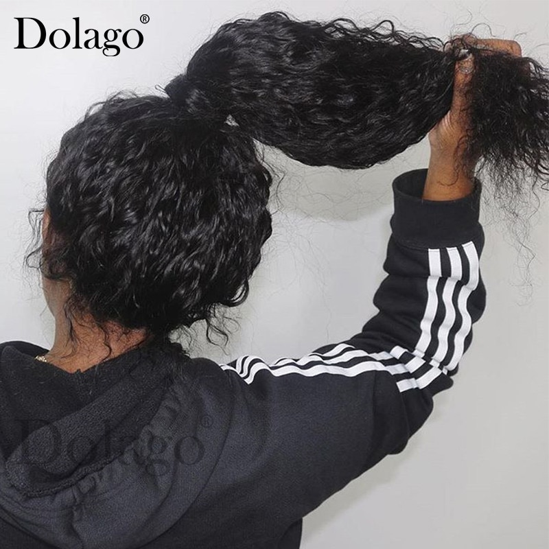 360 Lace Frontal Wig Pre Plucked With Baby Hair 250 Density Deep Wave Full Curly Bob 13x6 Lace Front Human Hair Wigs 370 Dolago