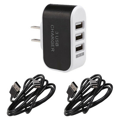 AC House Electric Wall Outlet To USB Socket Adapter Fast Rapid Charger Converter