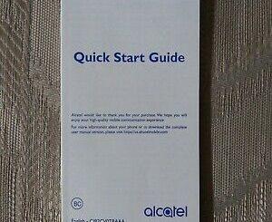 Alcatel Mobile Phone Manual 3