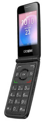 Alcatel GO Flip 4044V 4GB 4G LTE WiFi GSM Unlocked Flip Phone Black - Grade A